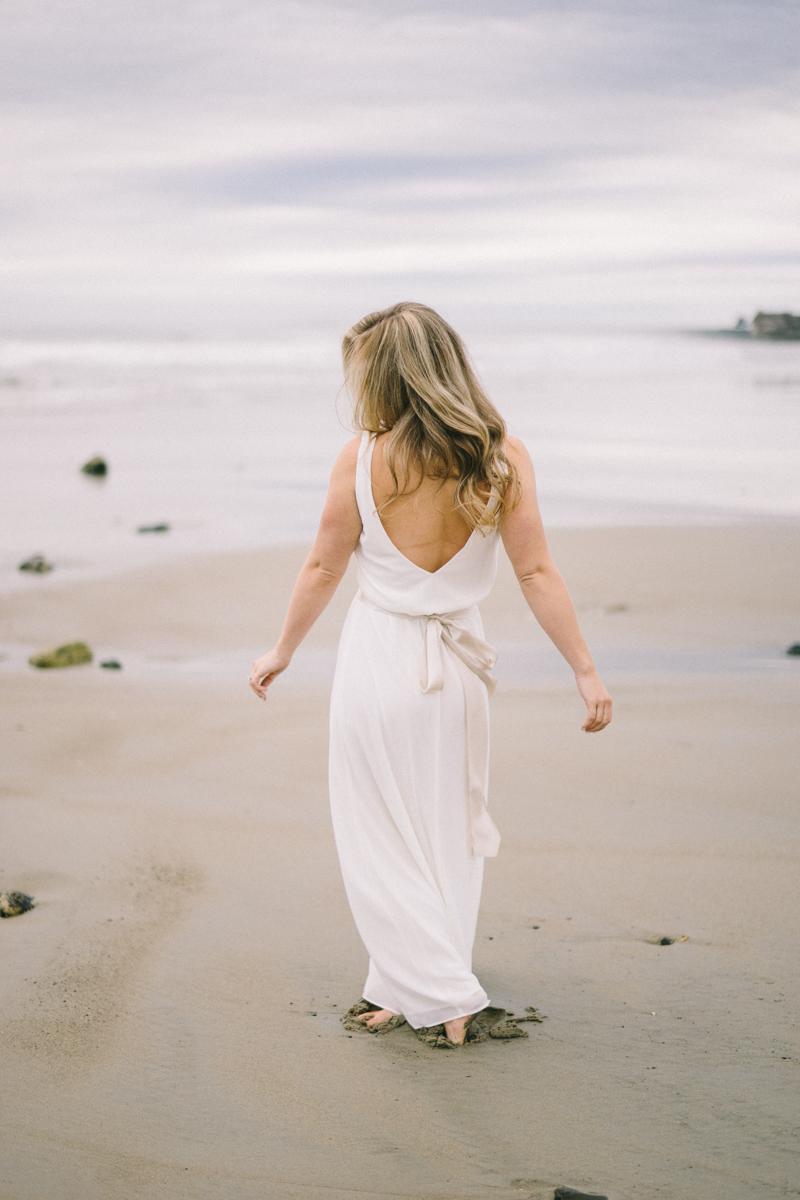 Wedding Vows on Maine Beach