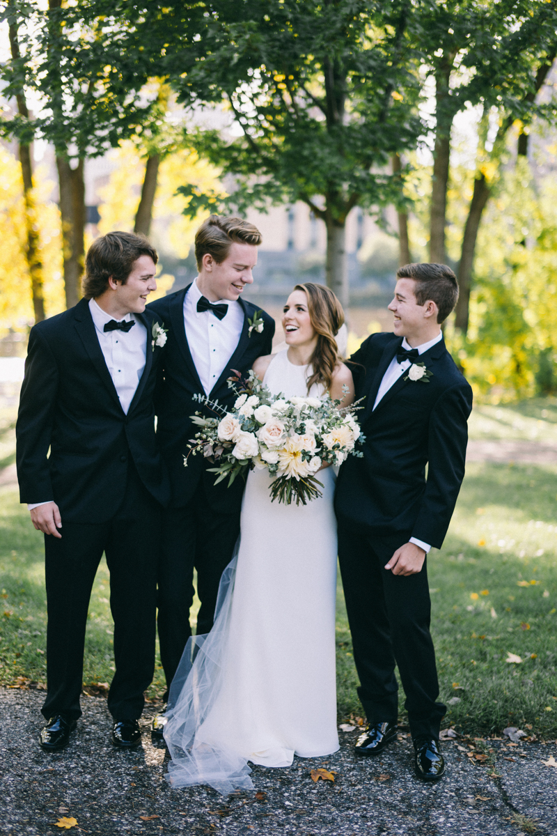 Romantic Fall Fine Art Wedding in Nicollet Island Pavilion Minneapolis