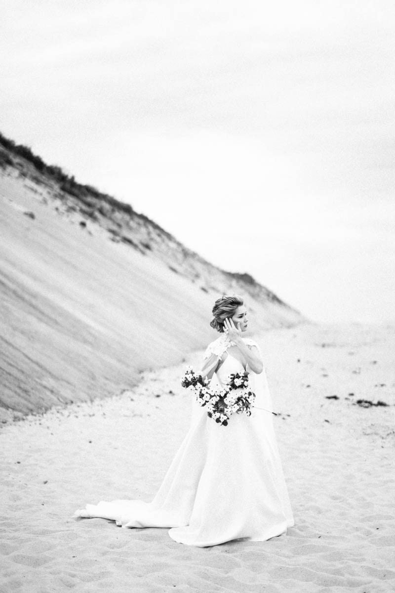 Cape cod bridal portraits fine art
