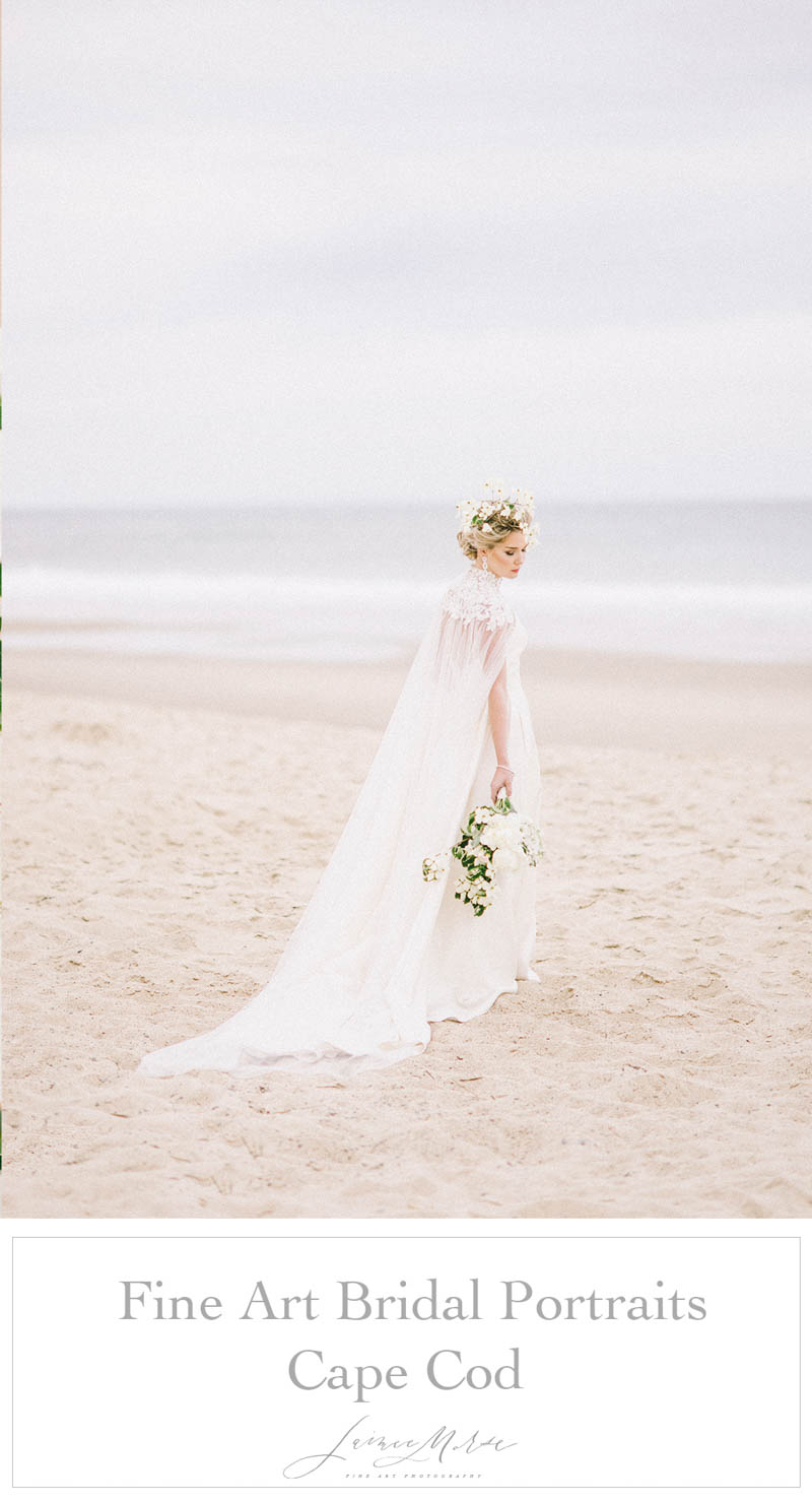 Avant-garde Cape Cod bridal photos