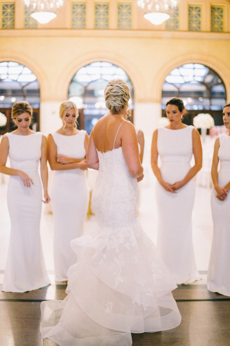modern and elegant urban wedding