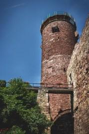 Torre principal del Castillo de Trendelburg