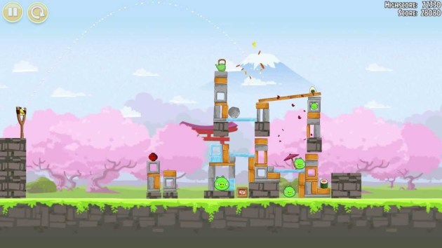 Angry birds. ejemplo de gamificación en el aula