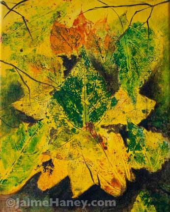 Autumn Bouquet painting