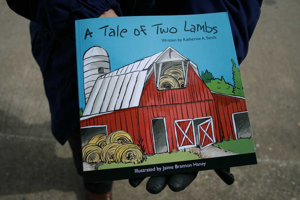 A Tale of Two Lambs Children's Easter Book