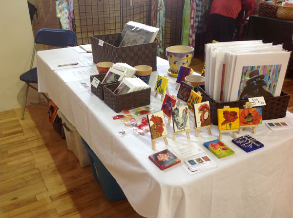 my table at the show