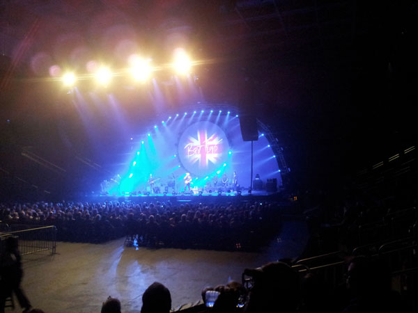 scene from Brit Floyd Concert