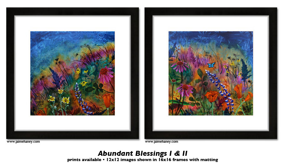 Now available Fine Art Prints of Abundant Blessings!