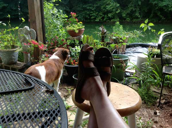 me with my feet up relaxin in 2013 studio gardens