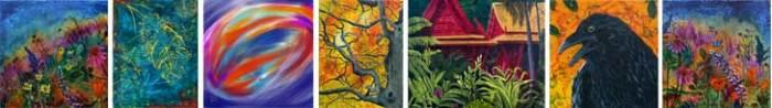 paintings by New Harmony, Indiana artist Jaime Haney