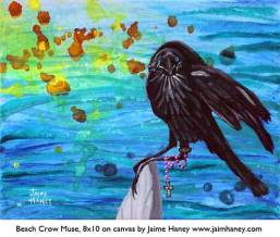 Beach Crow Muse