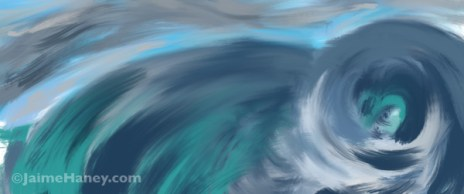Swirls of abstract waves