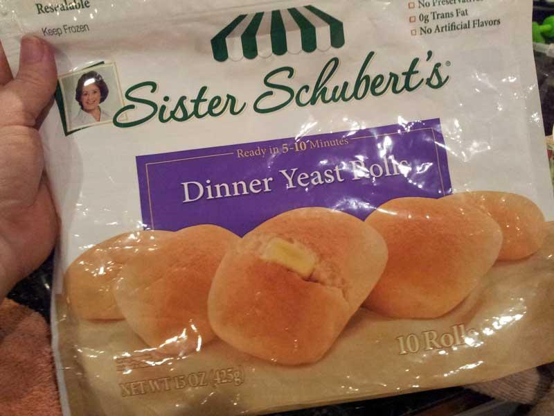 Sister Schuberts Yeast Dinner rolls