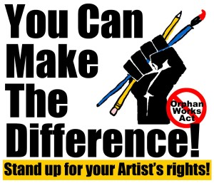 Make the difference logo for copyright reform