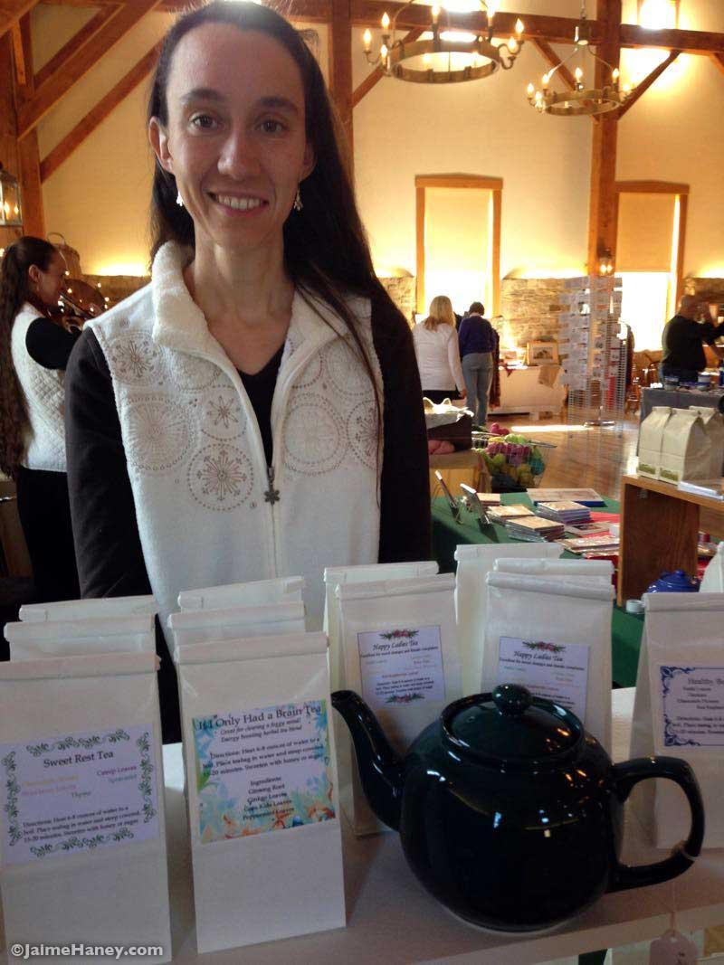 Ellen Wilson owner of Ellen's Herbal Teas