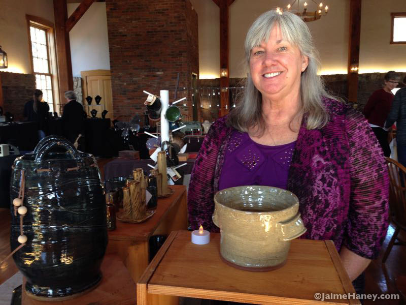 Roberta Gayer of French Ridge Pottery