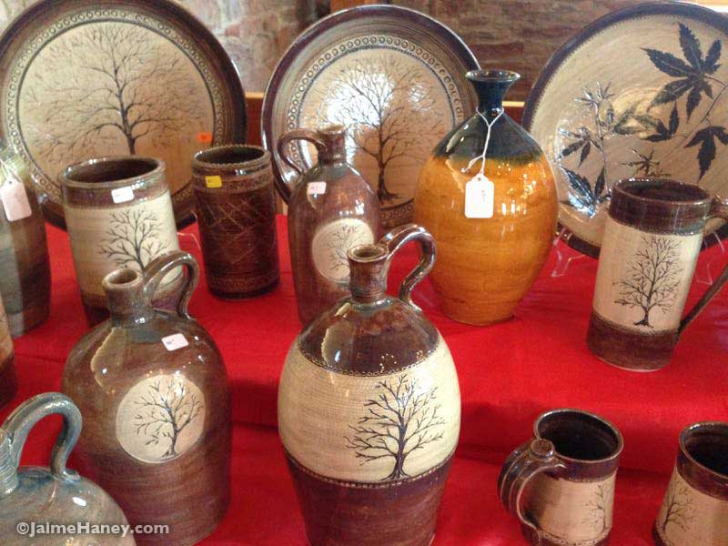 clay pottery by Treadway Clay