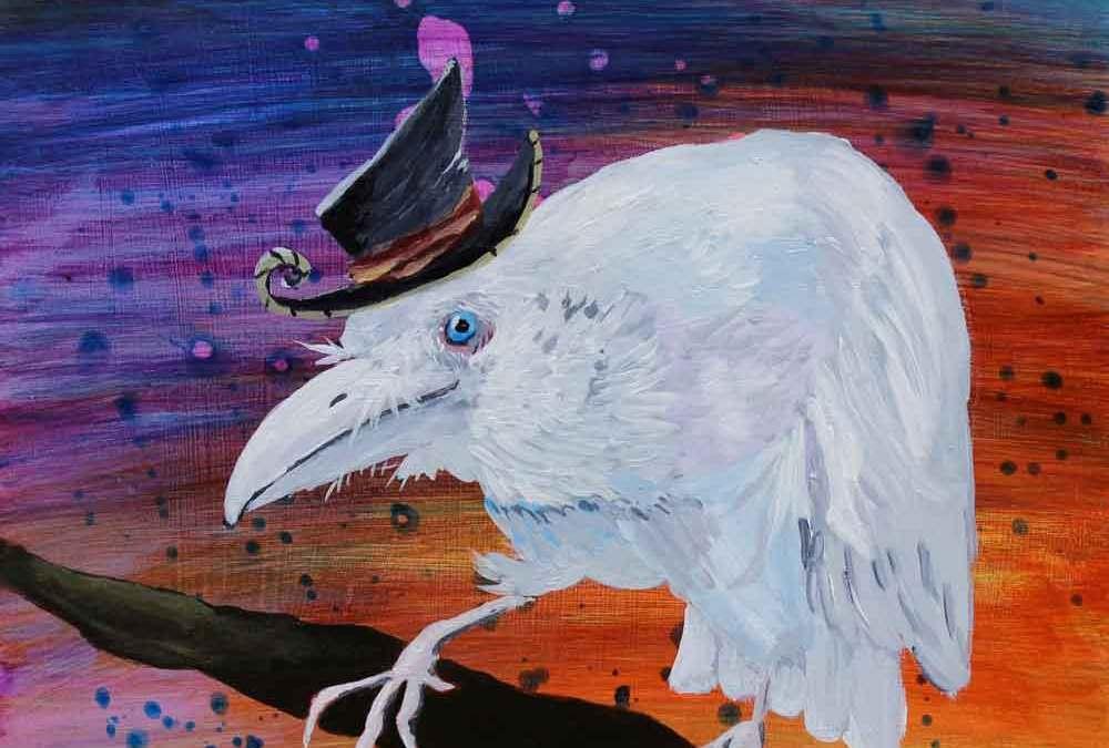 Old Timer – white raven