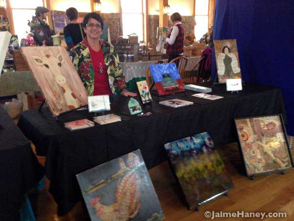 Vicki-Wilson-at-Artisans-Market-in-Xmas-in-New-Harmony_4344