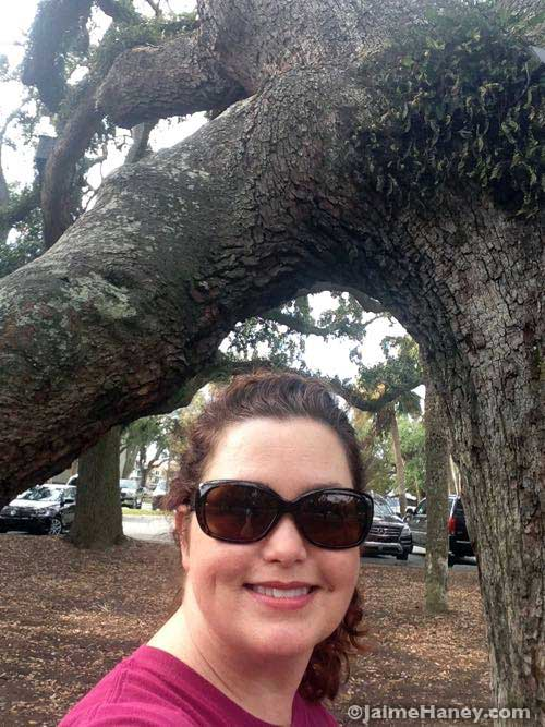 Selfie with the Live Oak