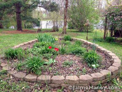 Circle garden - not so circle