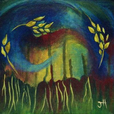 earthy original painting