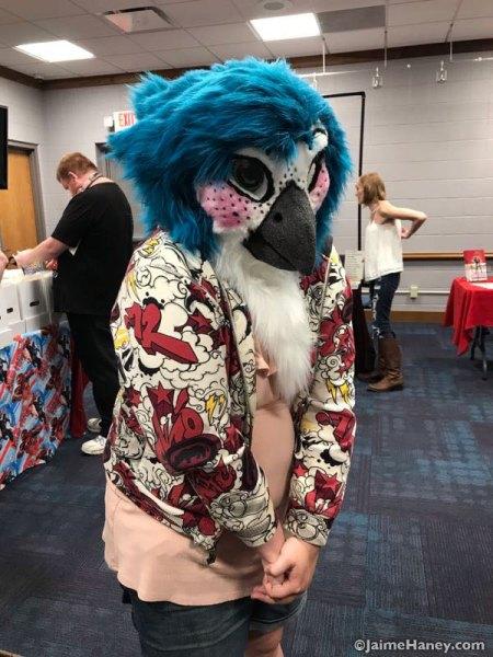 Blue Bird cosplay costume
