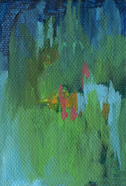 Night Garden abstract