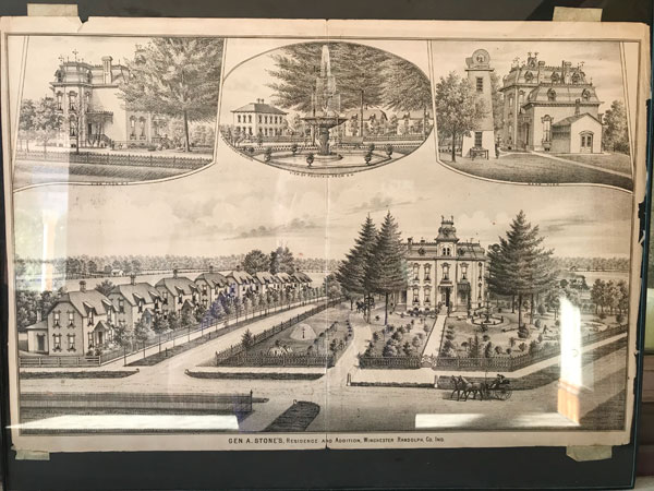 Illustration of General Stone Mansion