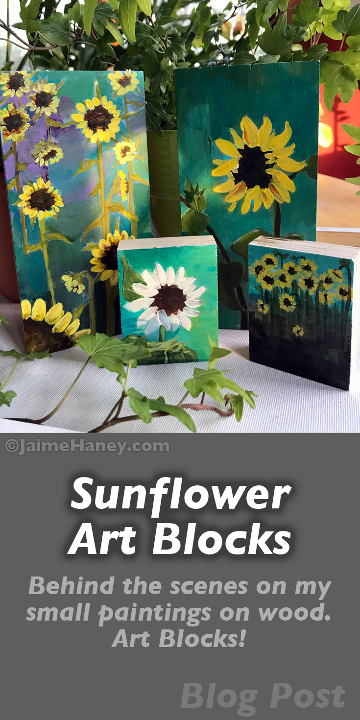 Sunflower Collection of Art Blocks