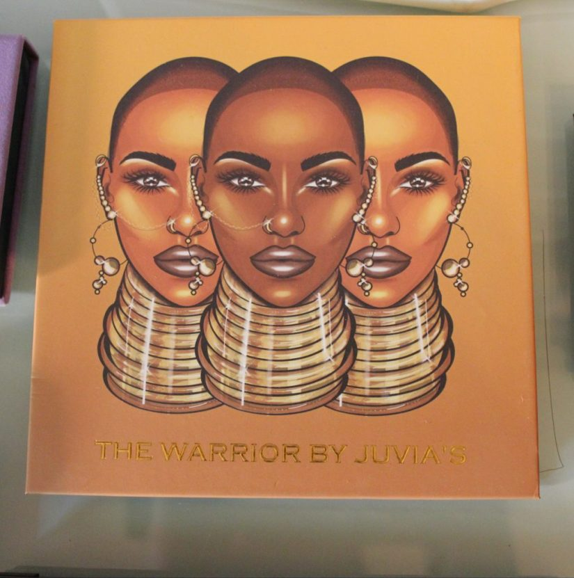 The Warrior Eye Palette by Juvias Place