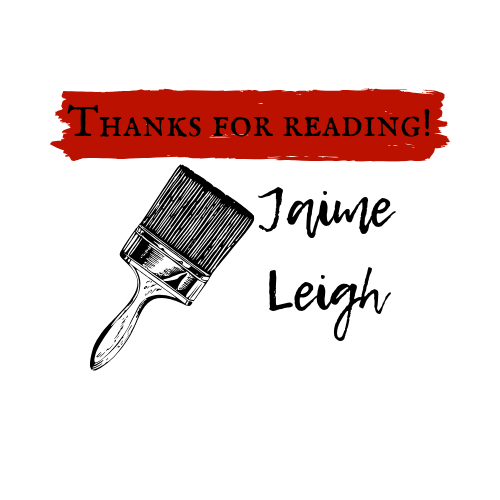 Jaime Leigh Thanks for Reading