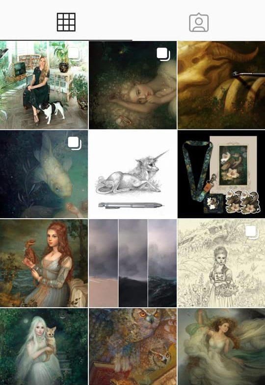 instagram artist annie stegg