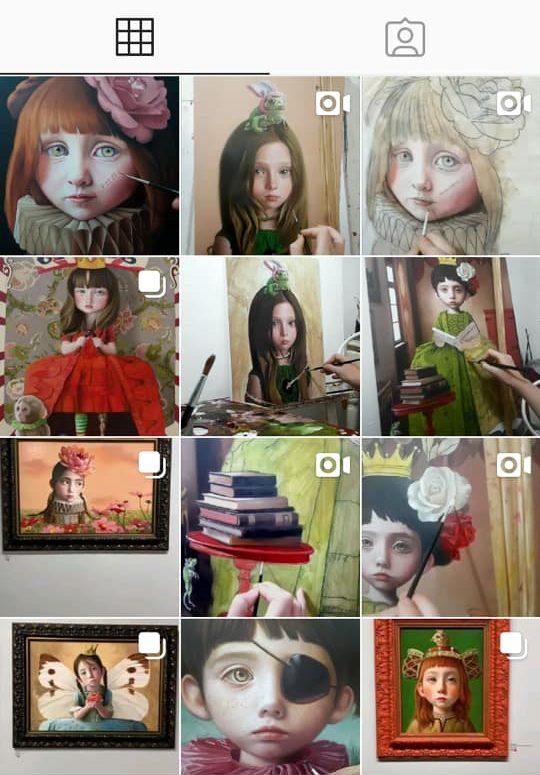 olga esther instagram