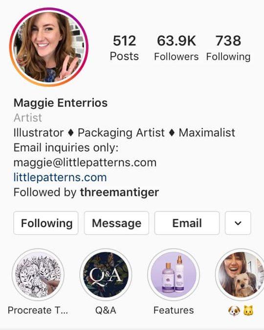instagram artist little patterns