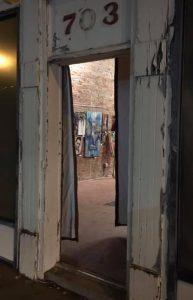 arts walk doorway