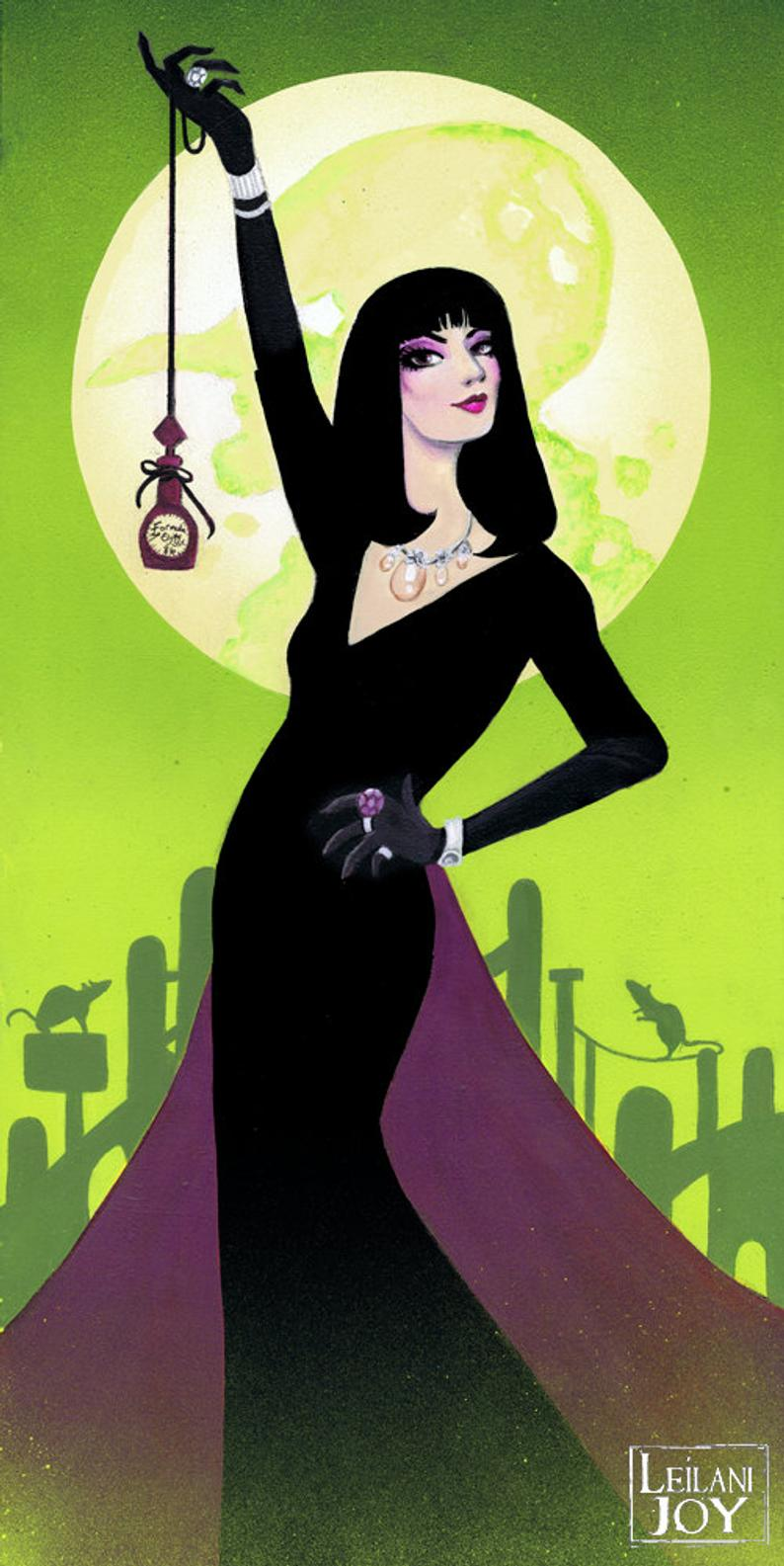 The Grand High Witch print
