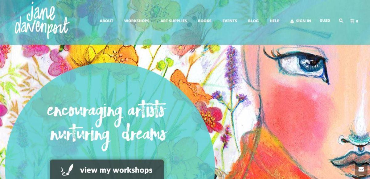 Jane Davenport website