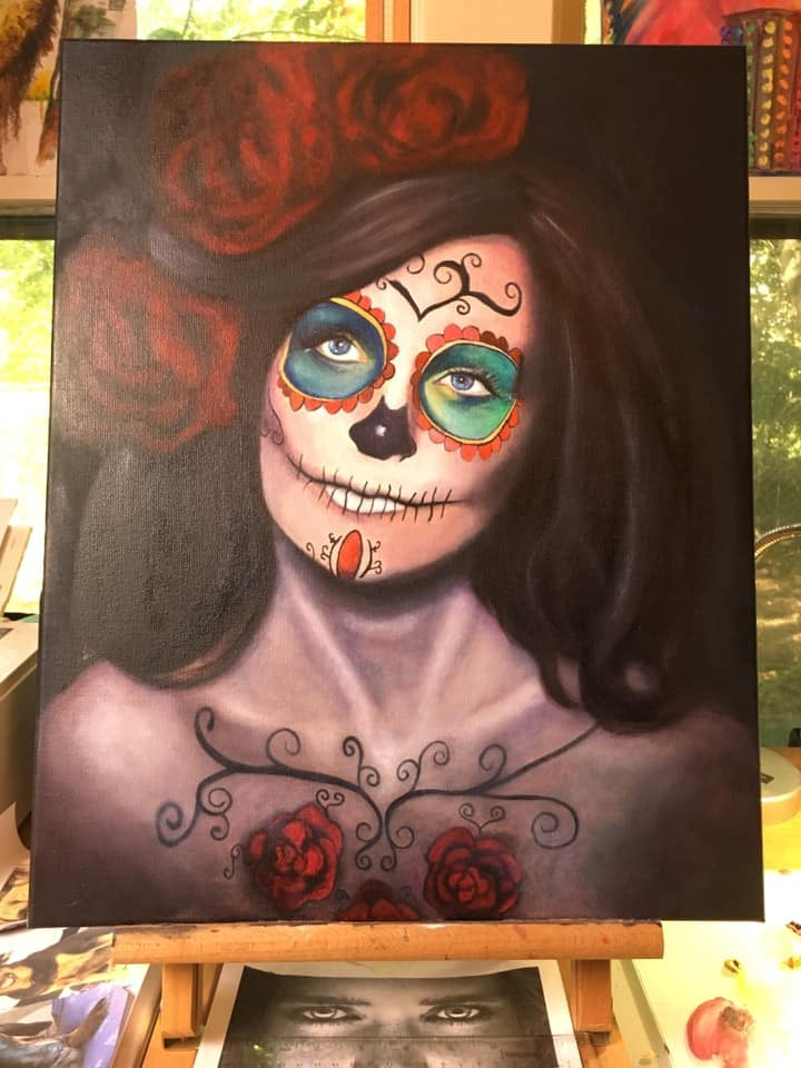 be an artist catrina painting