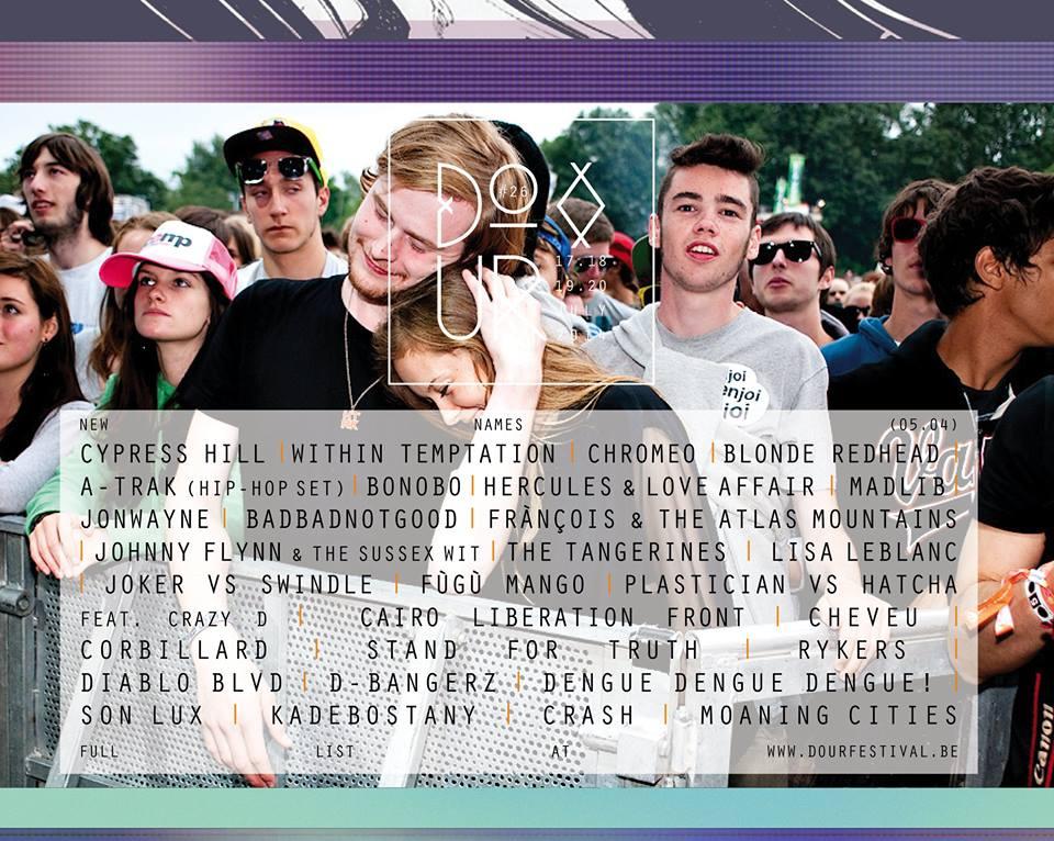 Dour Festival : la dernière annonce