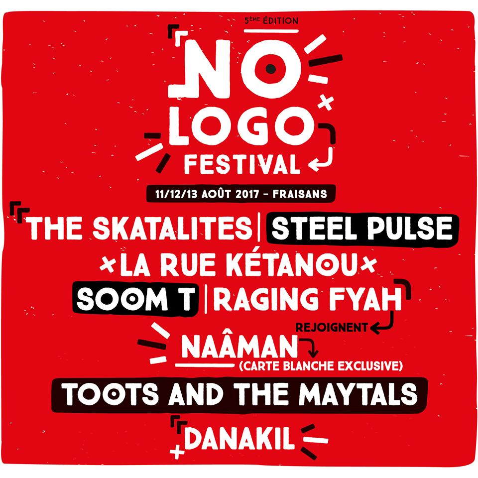No LOGO 2017 complète son affiche - STEEL PULSE - SOOM T - RAGING FYAH - LA RUE KÉTANOU - THE SKATALITES