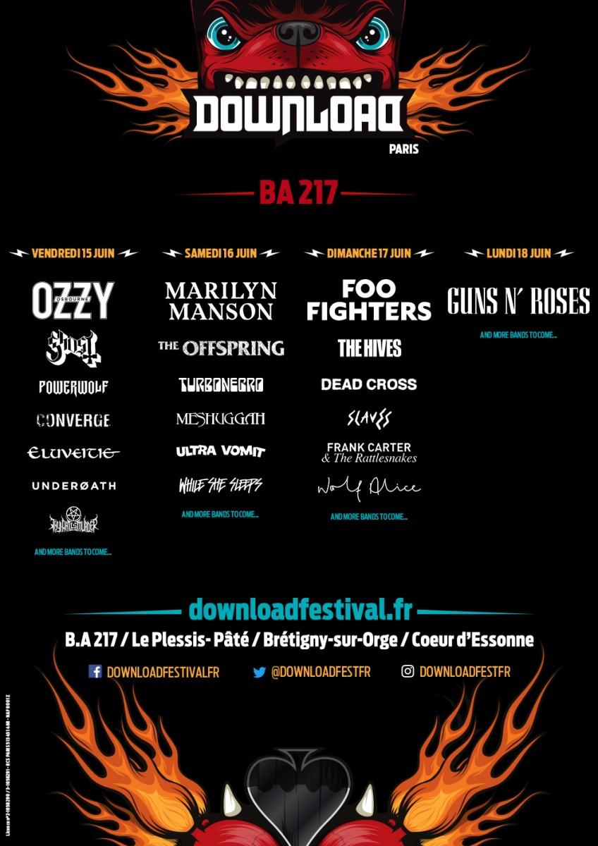 Download festival : une offensive rock dans un paysage métal en France