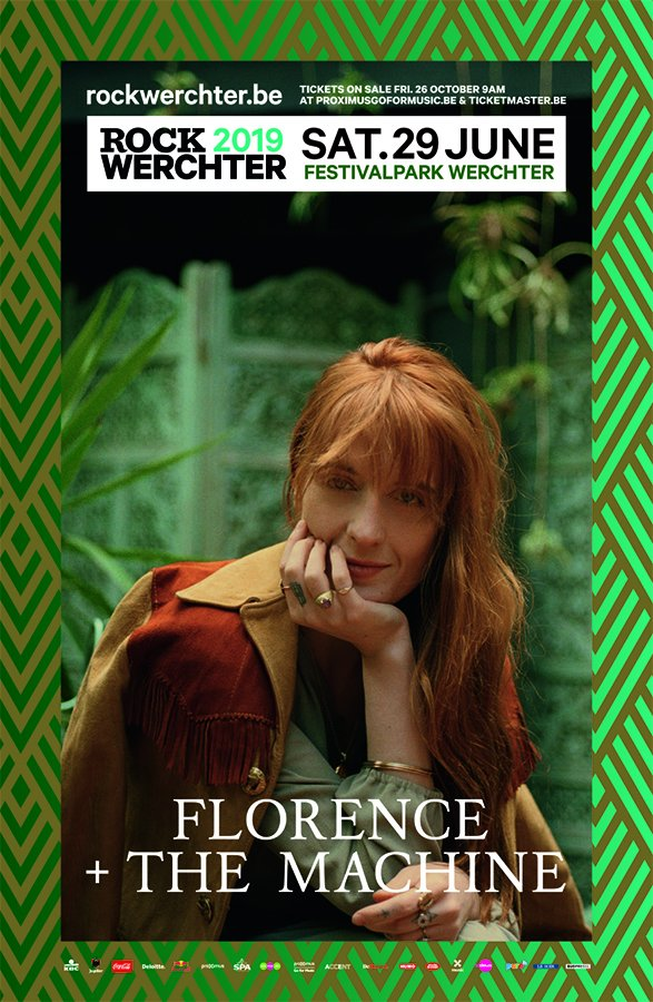 Werchter : Florence+The Machine le samedi soir !