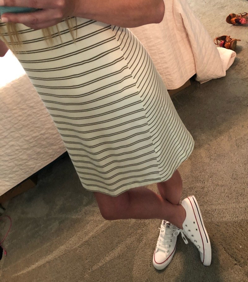Casual Dress & Sneakers