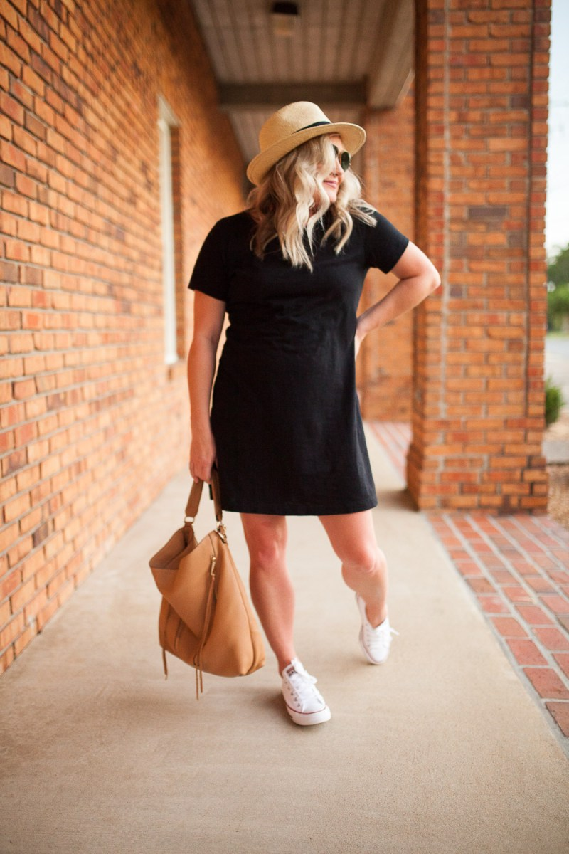 A Closet Essential: A T-Shirt Dress