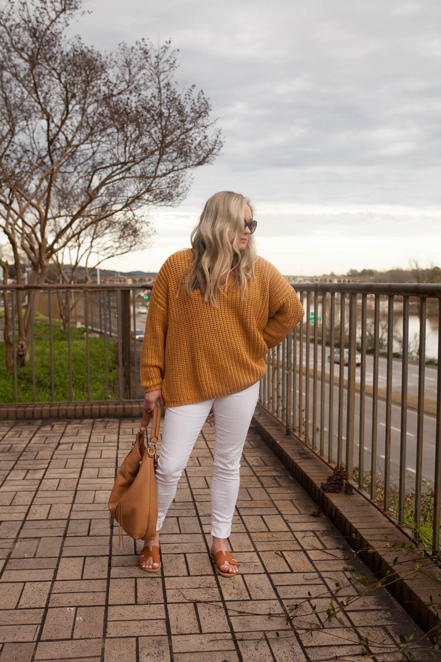 marigold oversized sweater