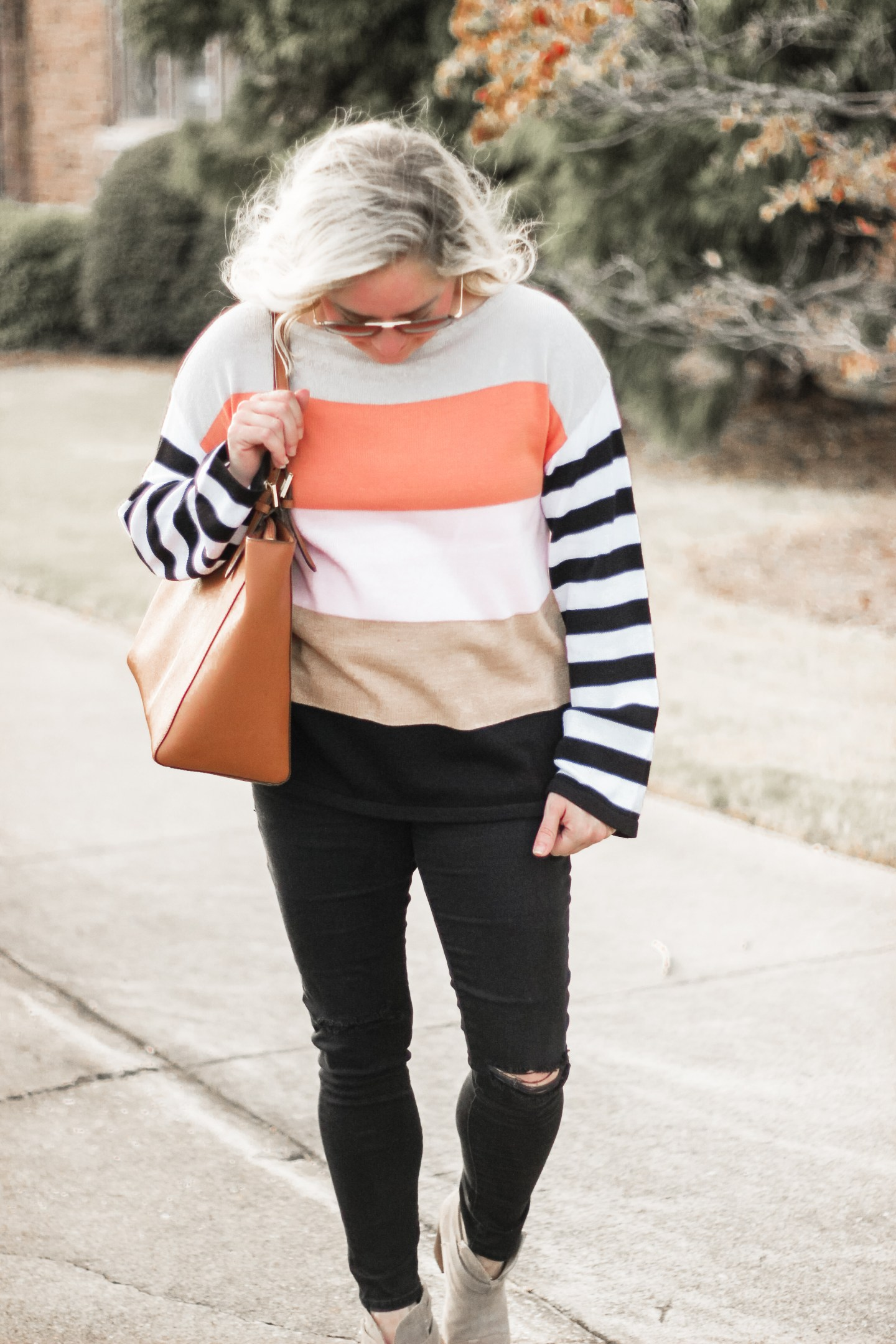 amazon striped sweater