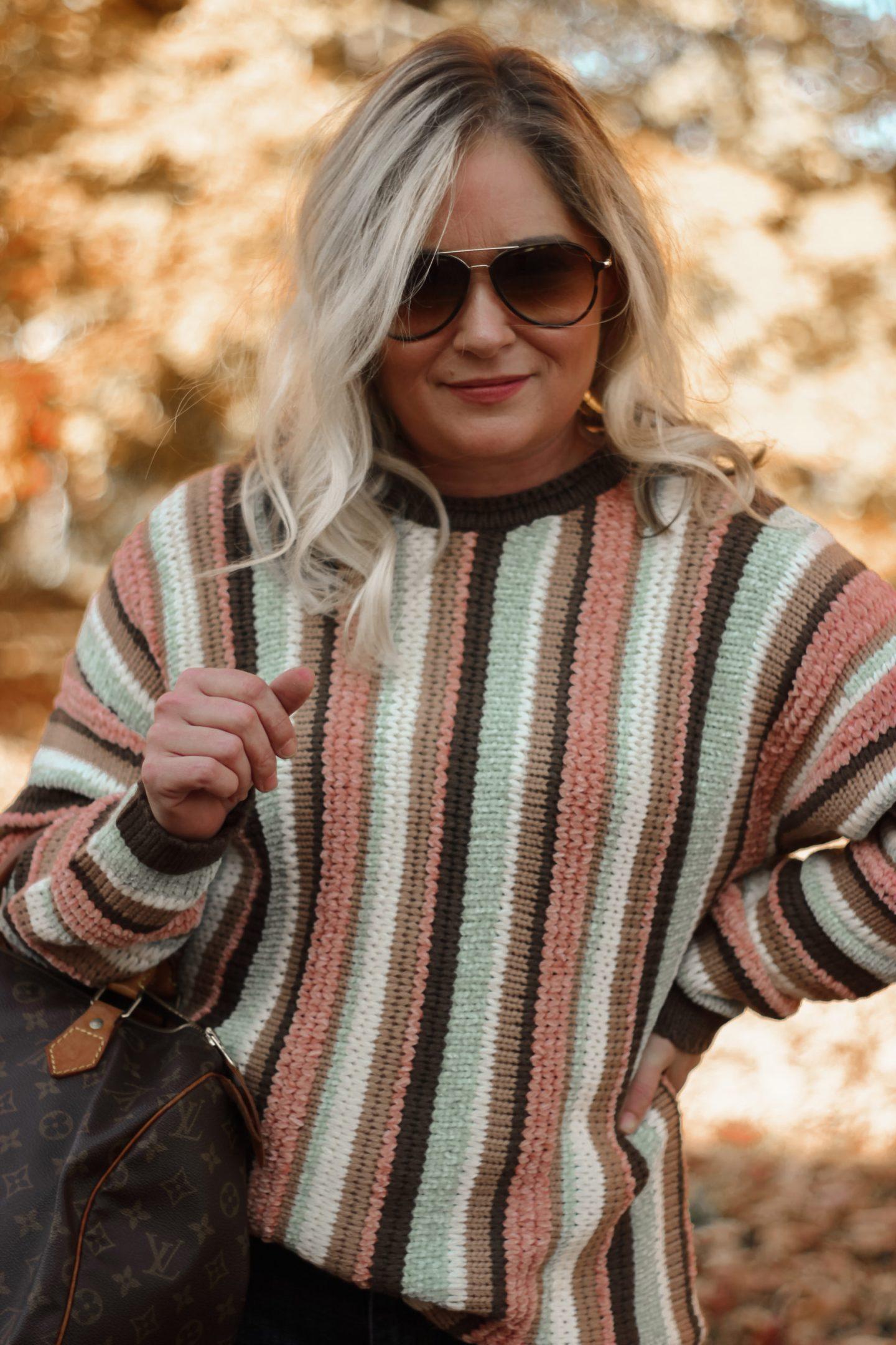 striped sweater mint julep boutique