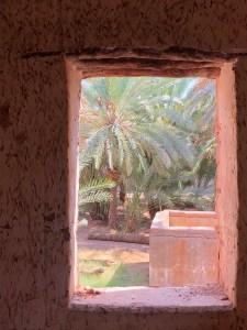 Al Ula Farm House Window saudia arabia