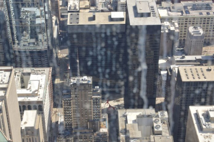 Dirty Windows at Skydeck Chicago